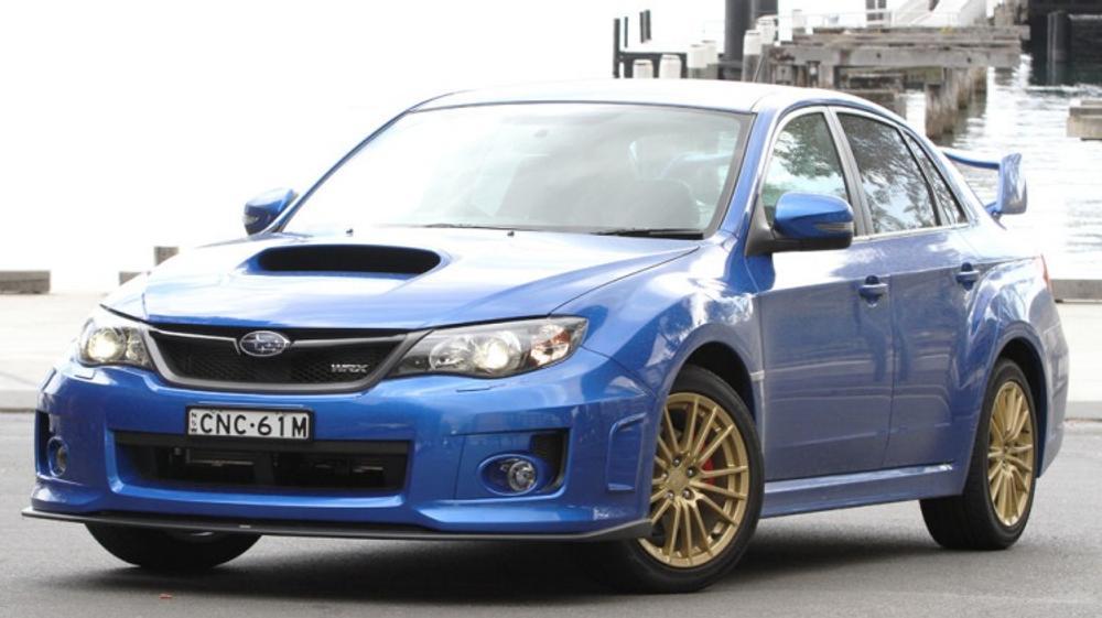 Subaru WRX RS40 quick spin