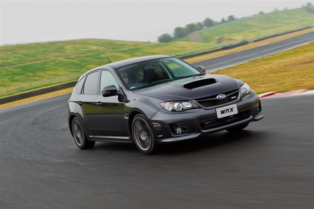 2012 Subaru WRX Club Spec Goes Orange And Black For Australia