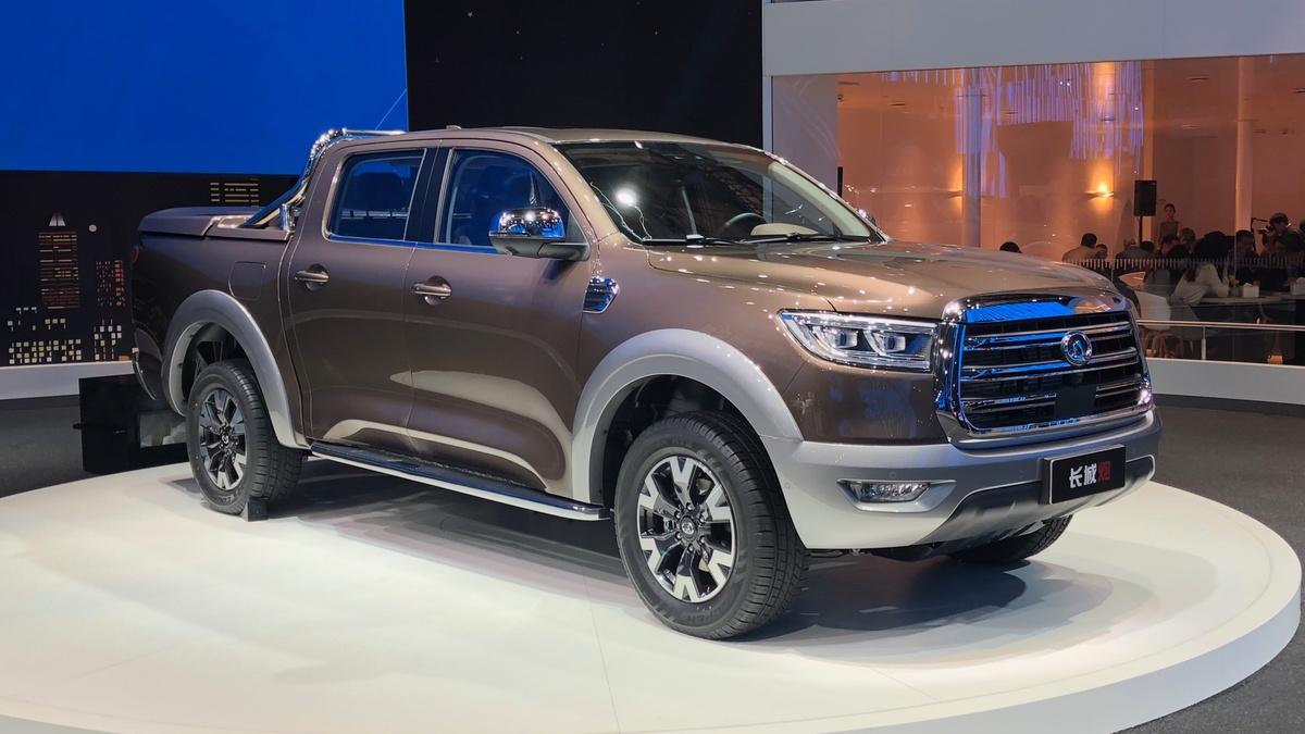 Great Wall Launch Nameless Ute Range Drive Car News