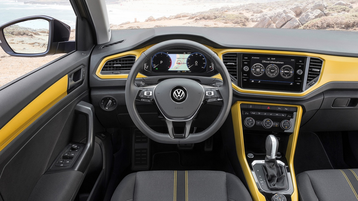 2019 Volkswagen T-Roc first drive review What's the interior and space of the T-Roc  like?