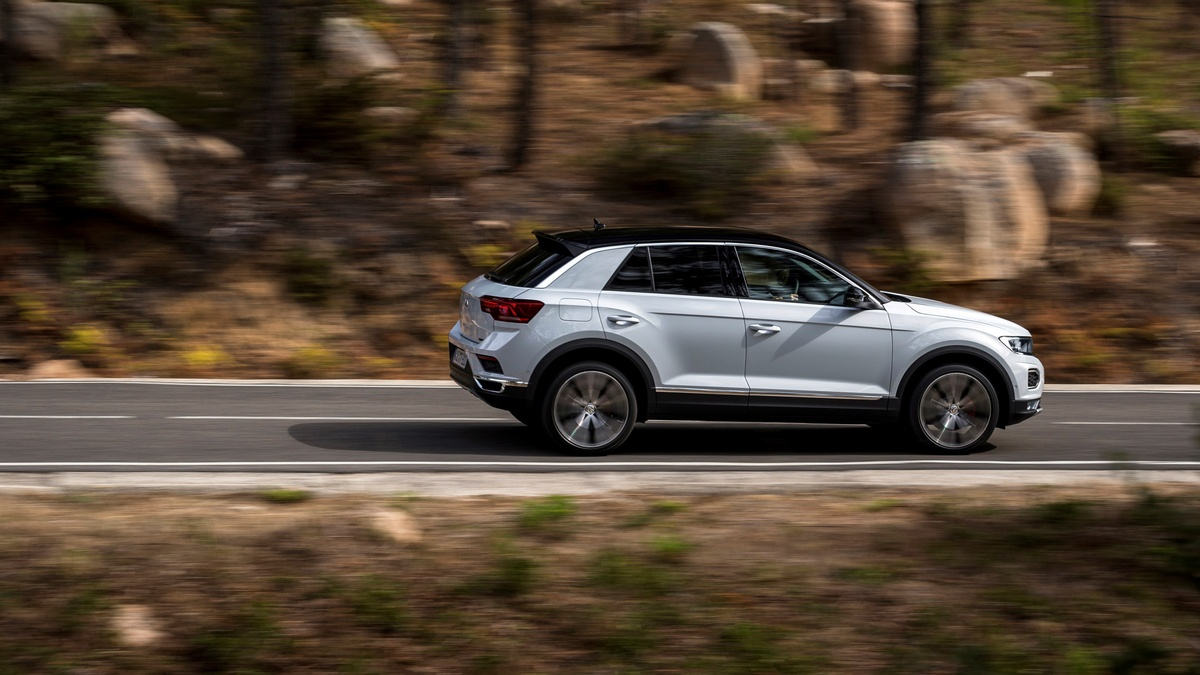 2019 Volkswagen T-Roc first drive review What's the Volkswagen T-Roc  like to drive?