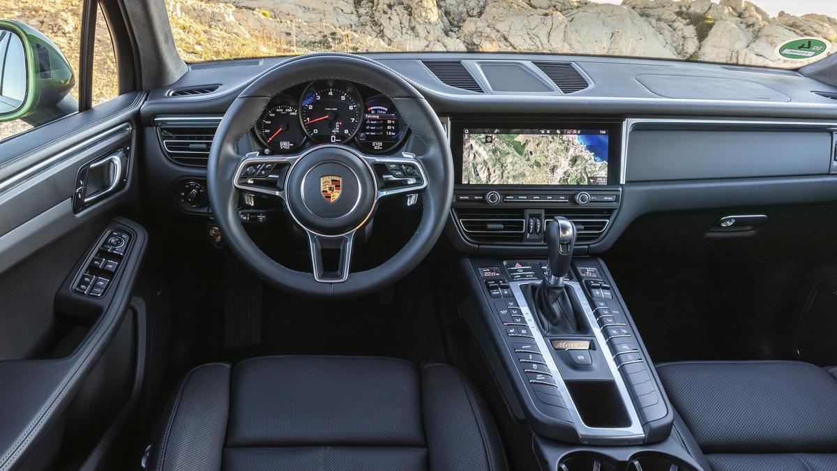 2019 Porsche Macan Interior Turbo Facelift Suv Project