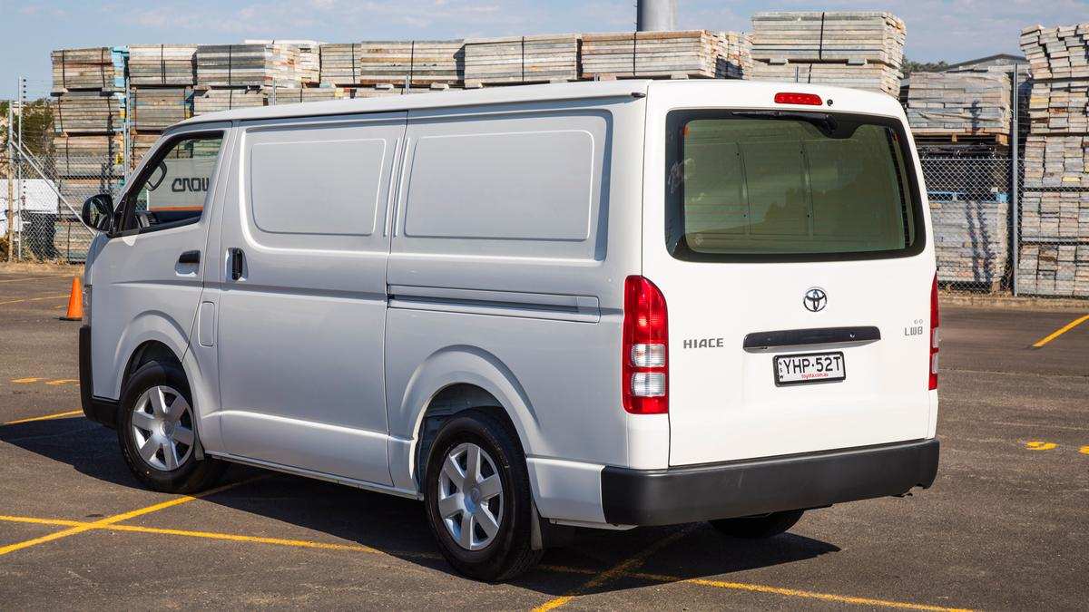 Best Medium Van: Toyota HiAce review | Drive com au