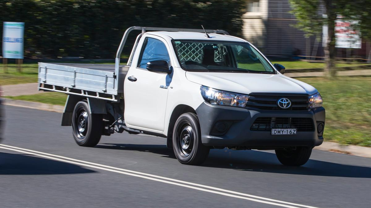 Best Single-Cab Work ute: Toyota HiLux Workmate review | Drive com au
