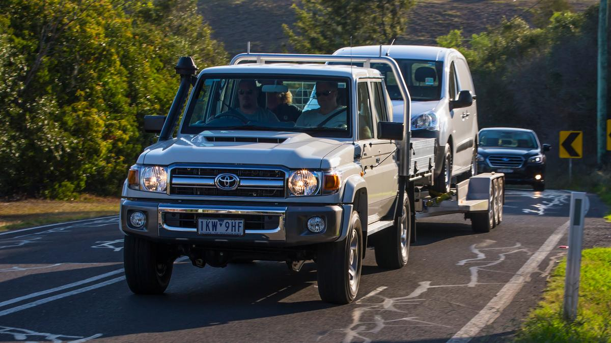 Best Recreational Ute: Toyota LandCruiser 70-Series Review
