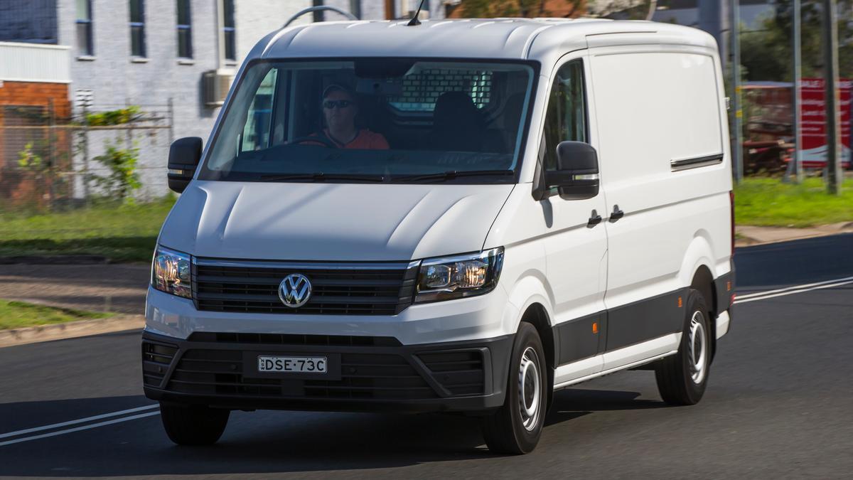 Best Large Van: Volkswagen Crafter Runner MWB review | Drive