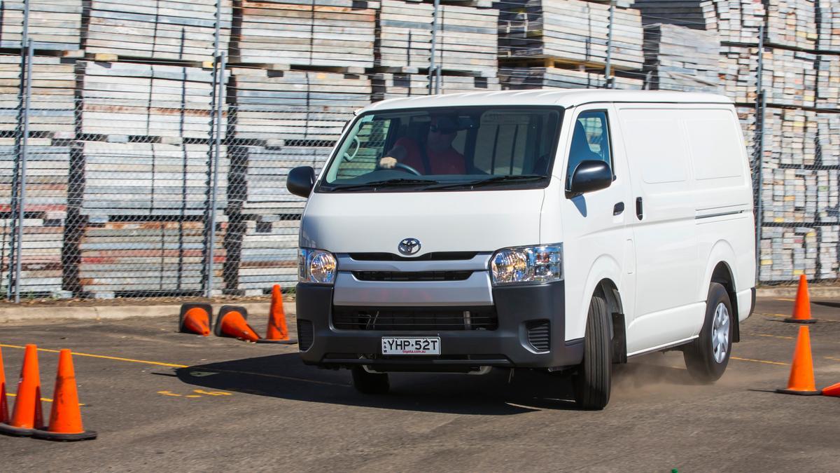 Best Medium Van: Toyota HiAce review   Drive com au