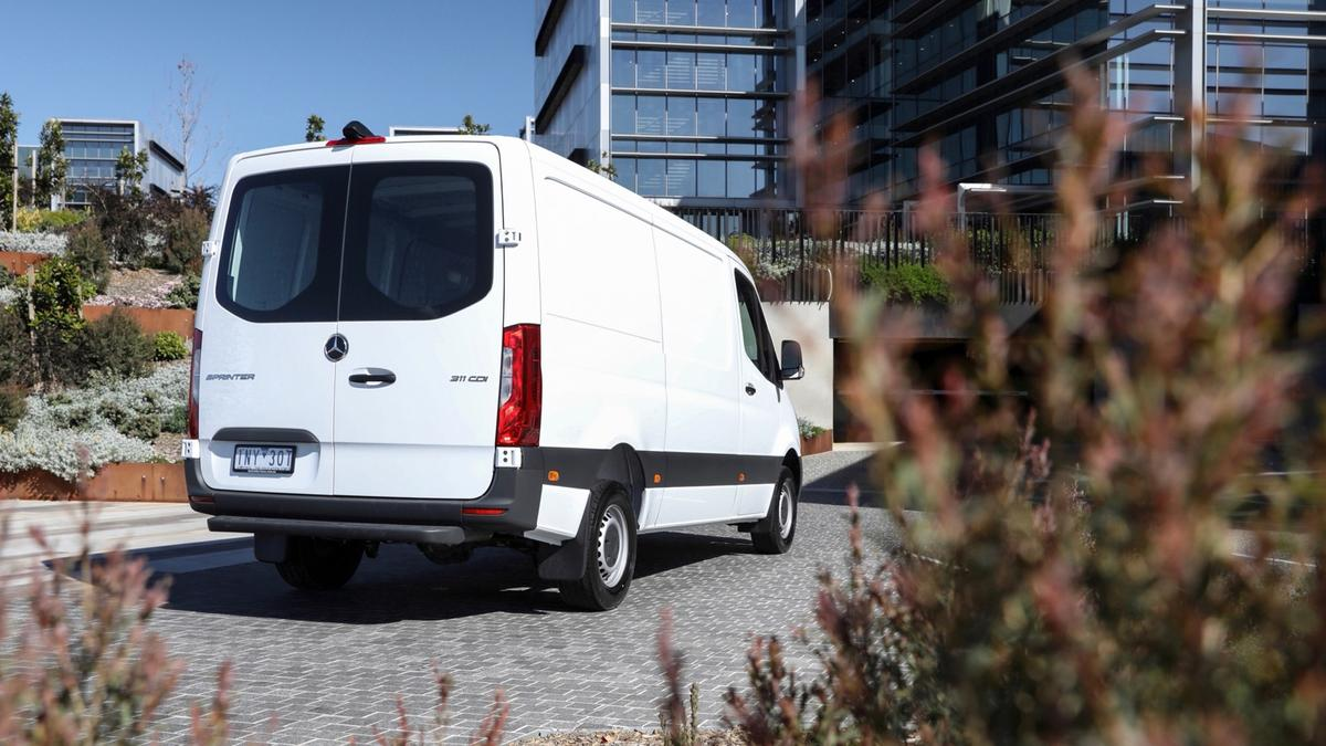 Mercedes-Benz Sprinter 2019 first drive review   Drive com au