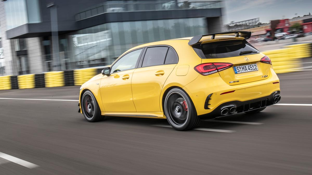 2020 Mercedes Amg A45 Review Performance Power And Specs