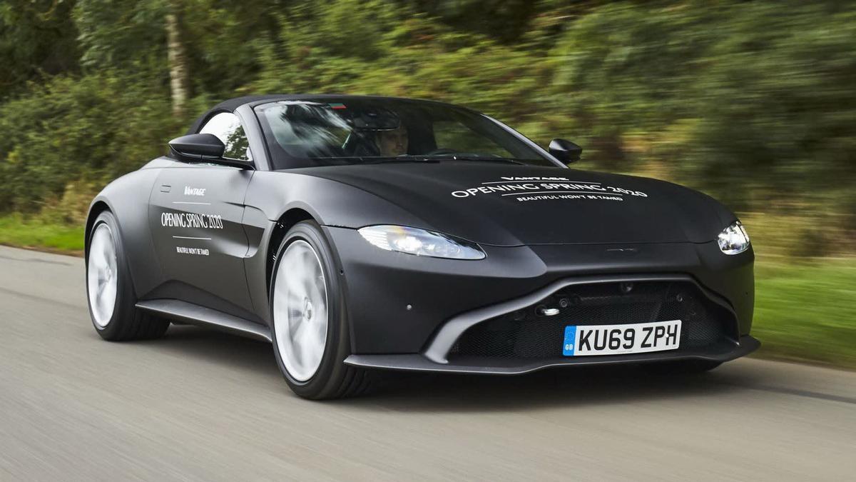 2020 Aston Martin Vantage Roadster Revealed Drive Car News