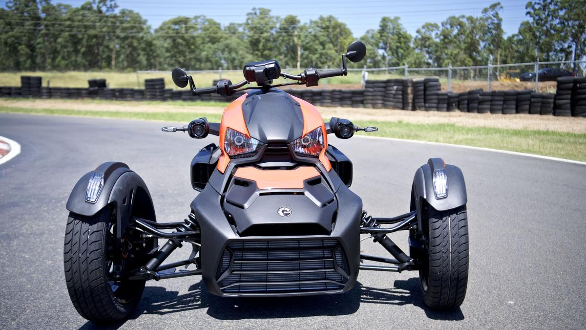 Can-Am Ryker trike review