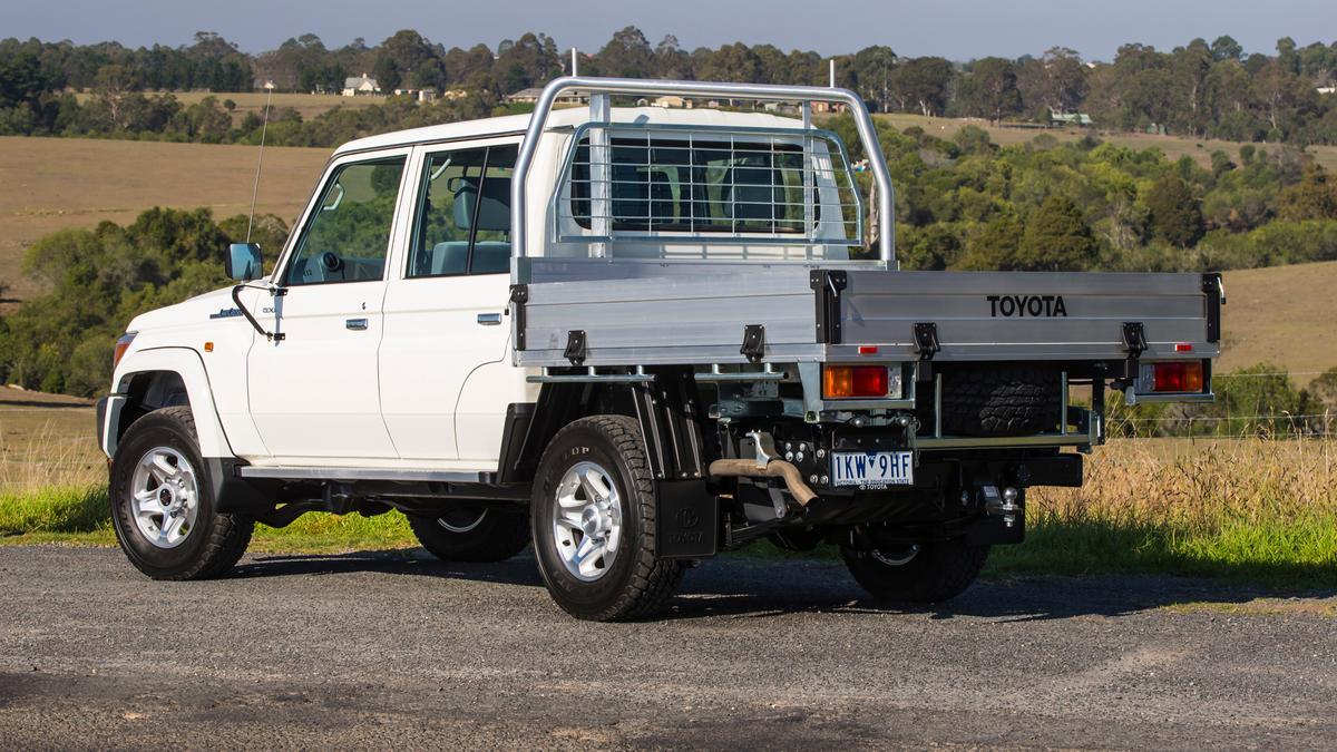Best Recreational Ute: Toyota LandCruiser 70-Series Review   Drive