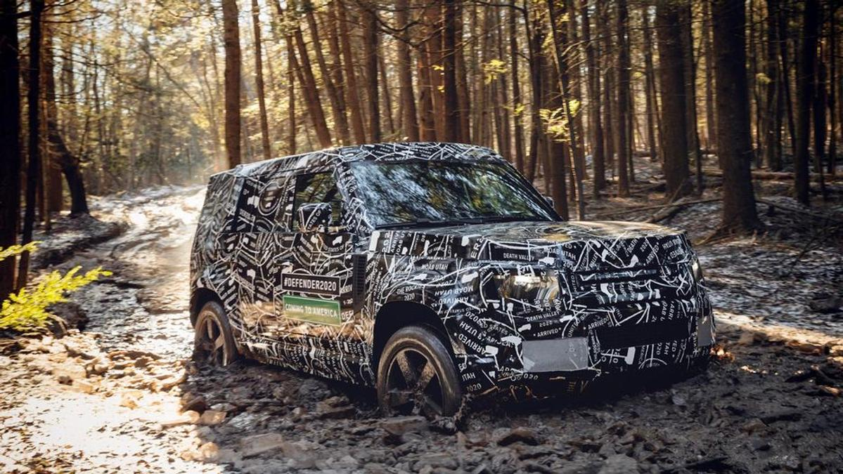 Land Rover Defender interior leaked | Drive Car News