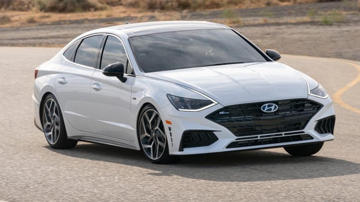 2021 Hyundai Sonata N-Line revealed ahead of big unveiling ...