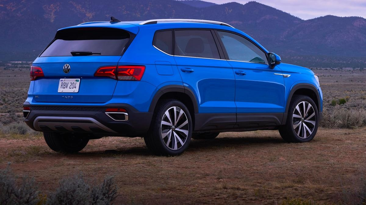 2022 volkswagen taos compact suv launches in us | drive