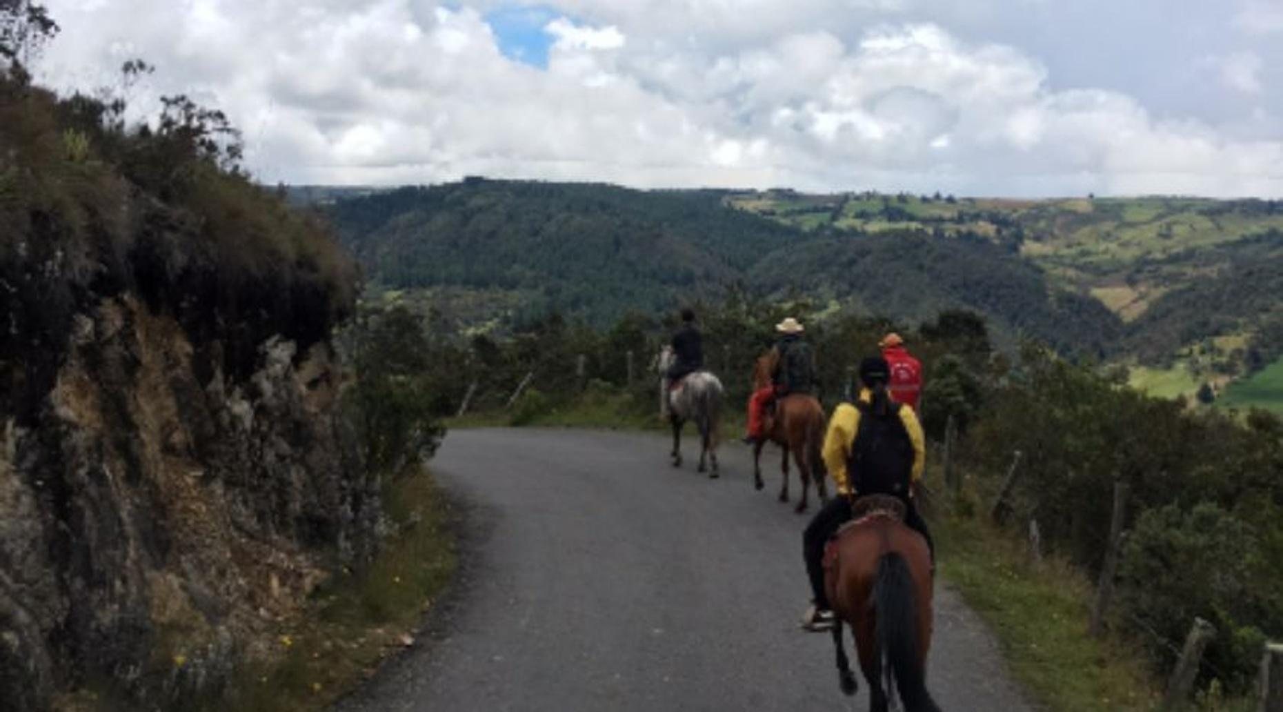 Horseback Riding Tour From Guadalupe to Monserrate