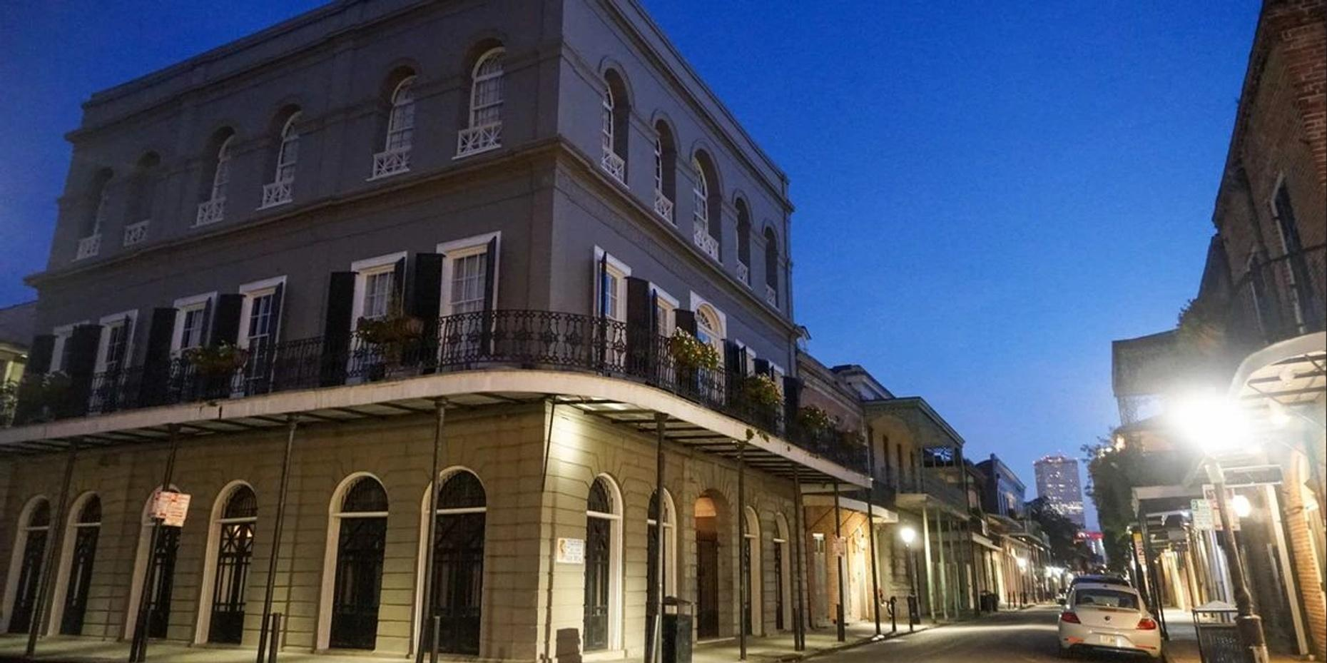 Haunted Crawl in New Orleans