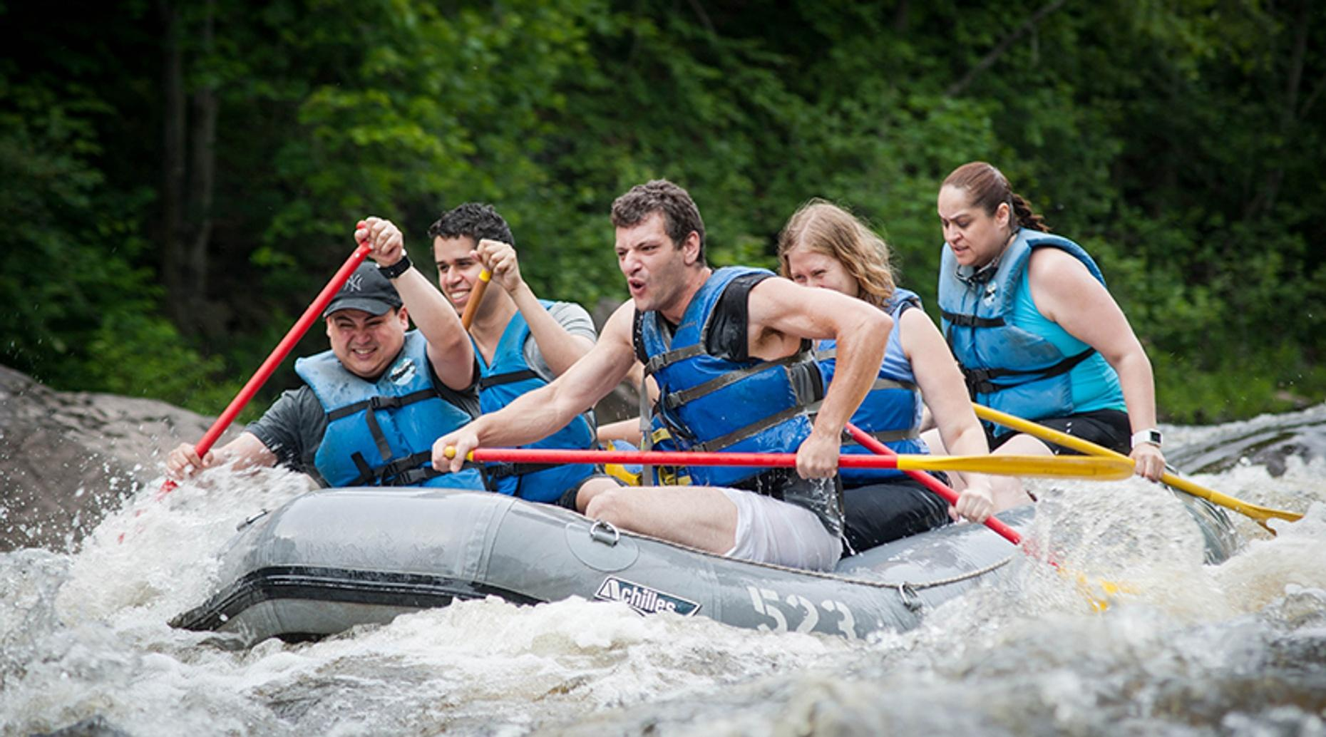 Lehigh River Whitewater Rafting from Manhattan