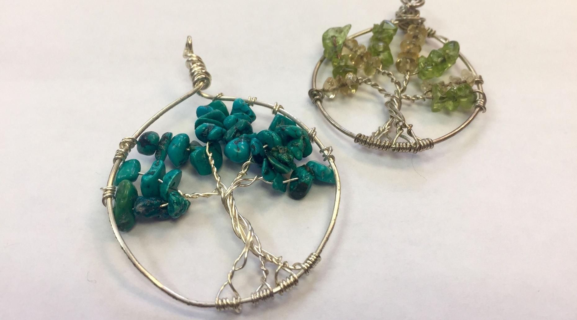 Tree of Life Gemstone Pendant Class