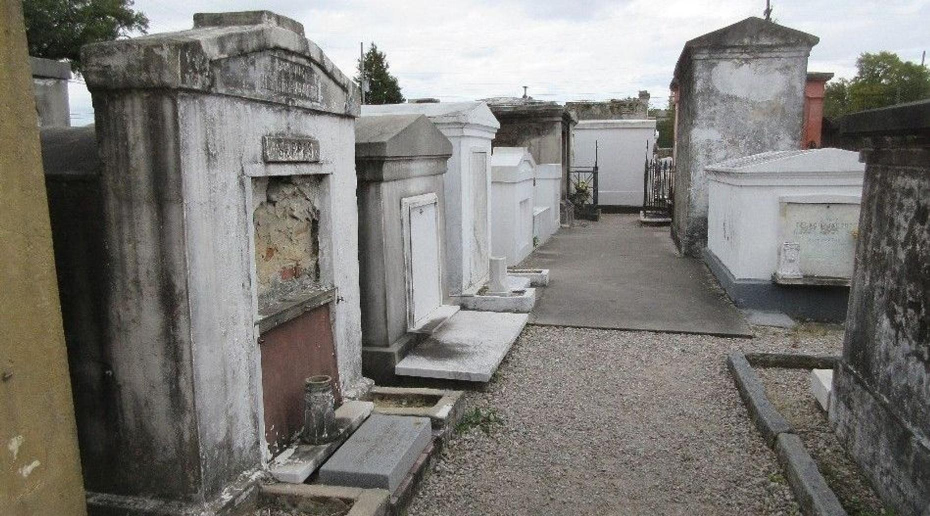 St. Louis Cemetery No. 1 in New Orleans