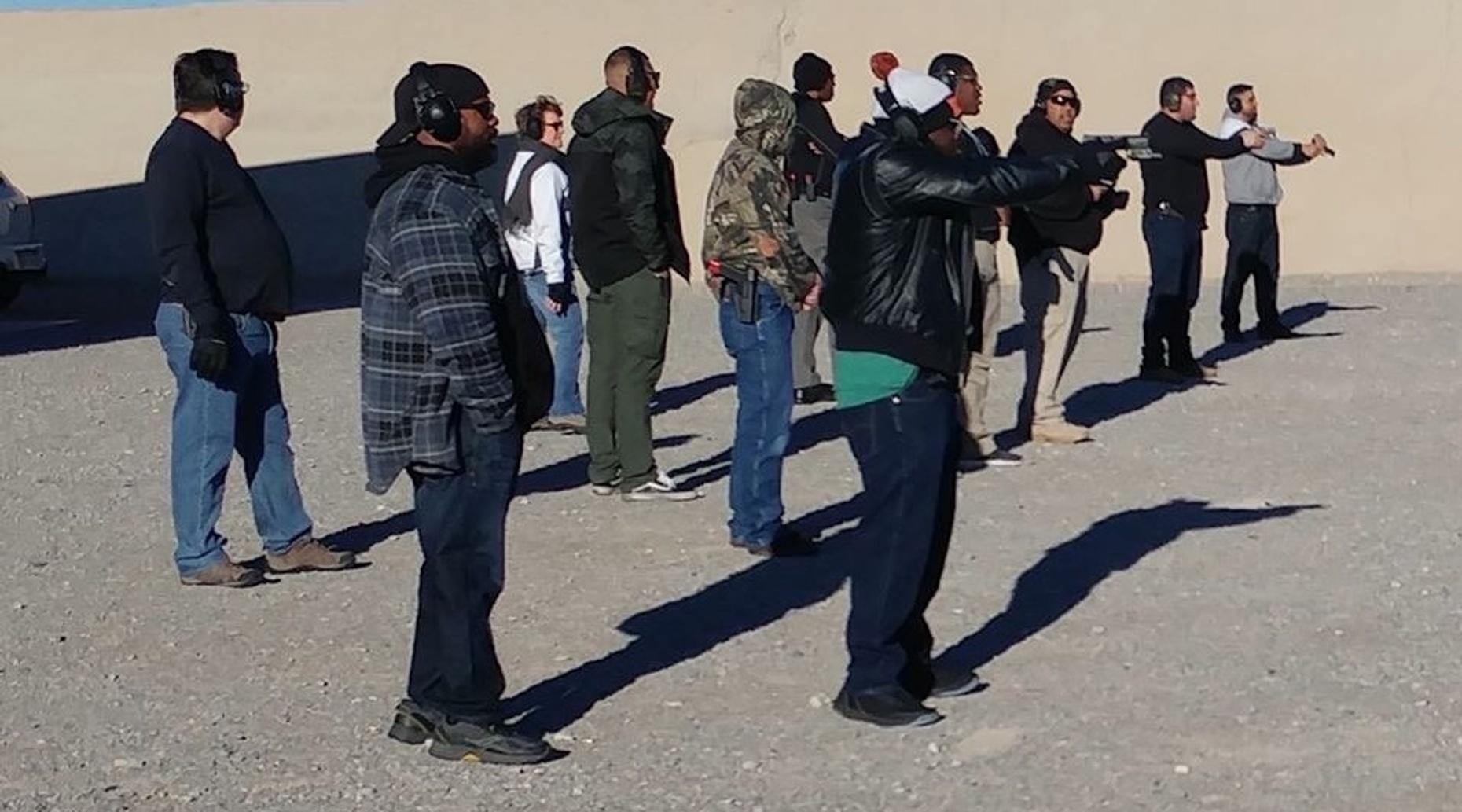 Carrying Concealed Weapon Class in Nevada