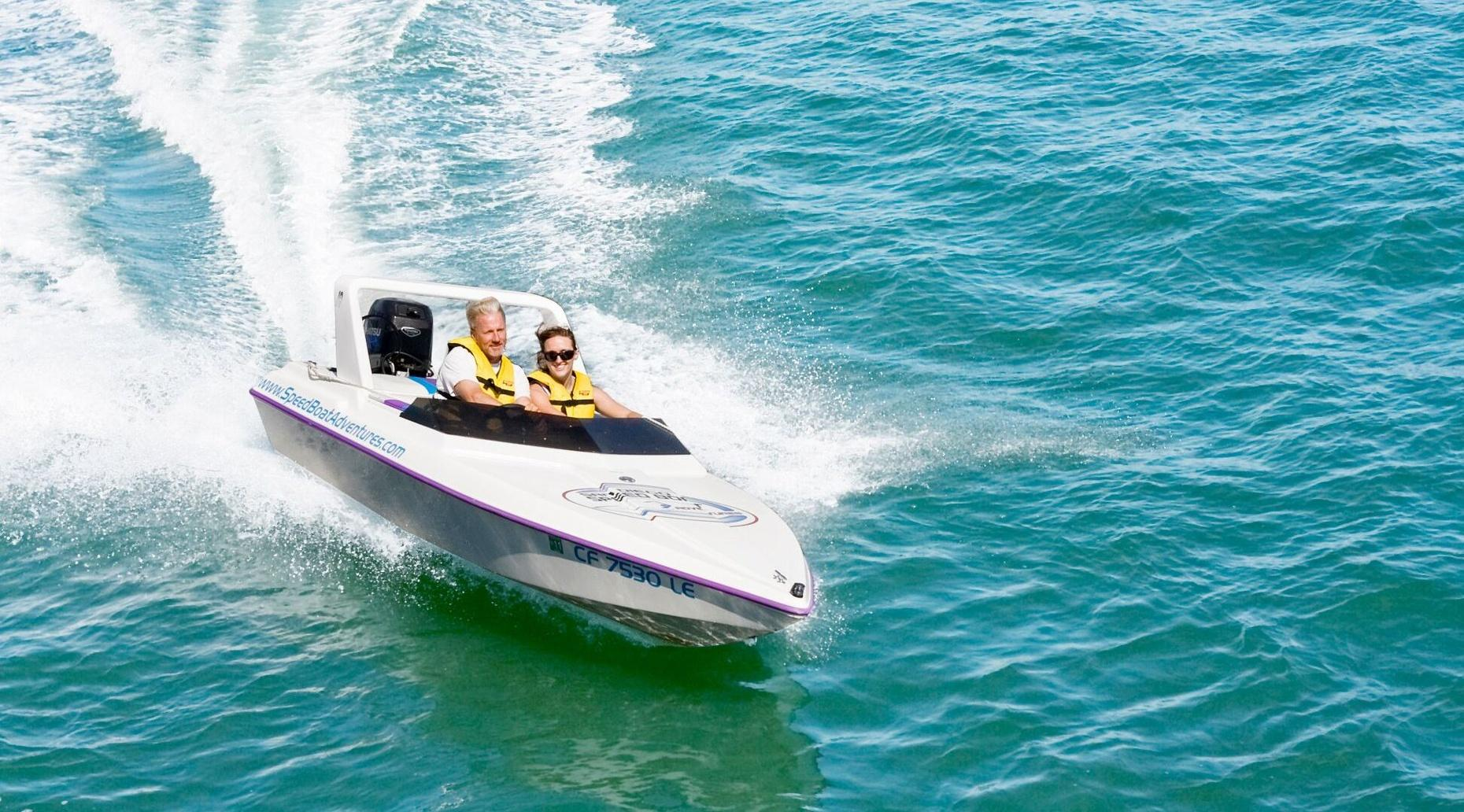 Tampa Speed Boat Adventure Tour
