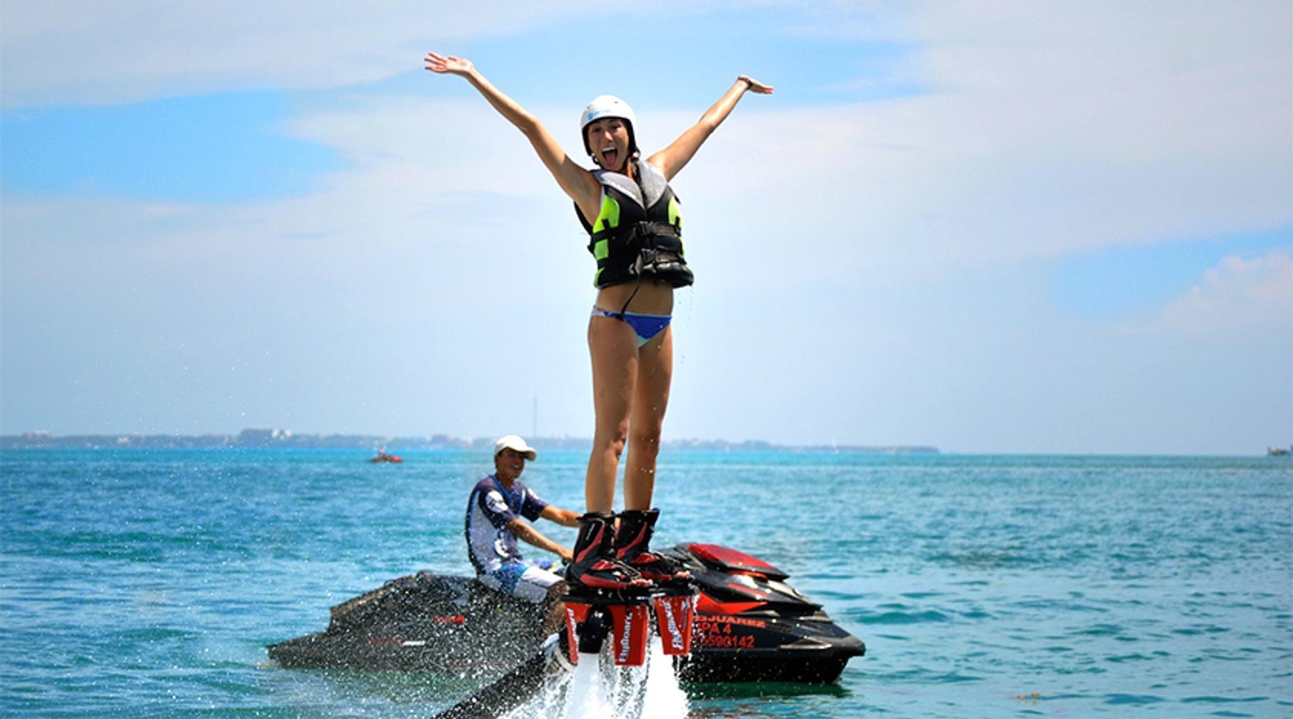 Riviera Maya Flyboard Excursion