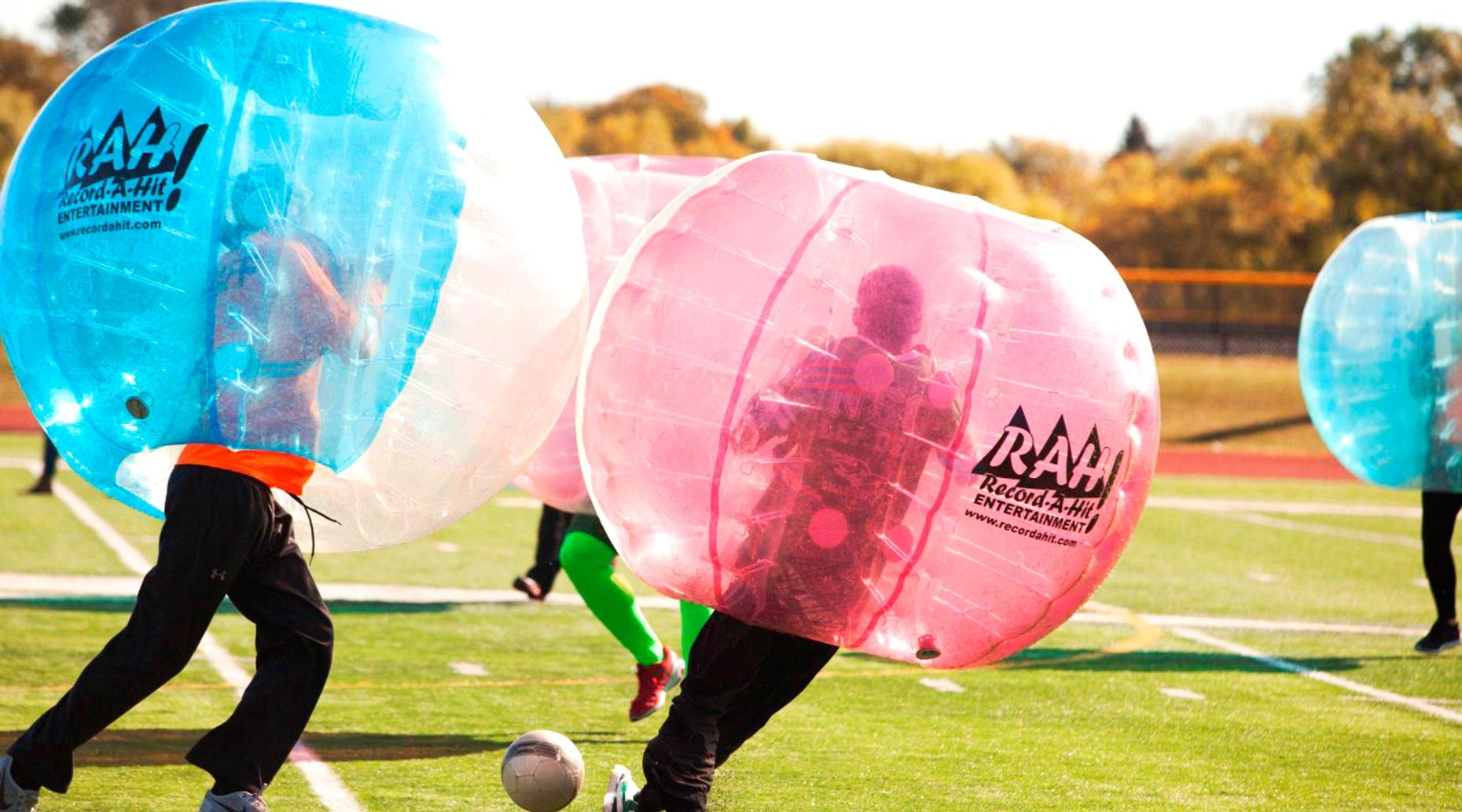 60-Minute Bubble Ball Game in St Louis Park