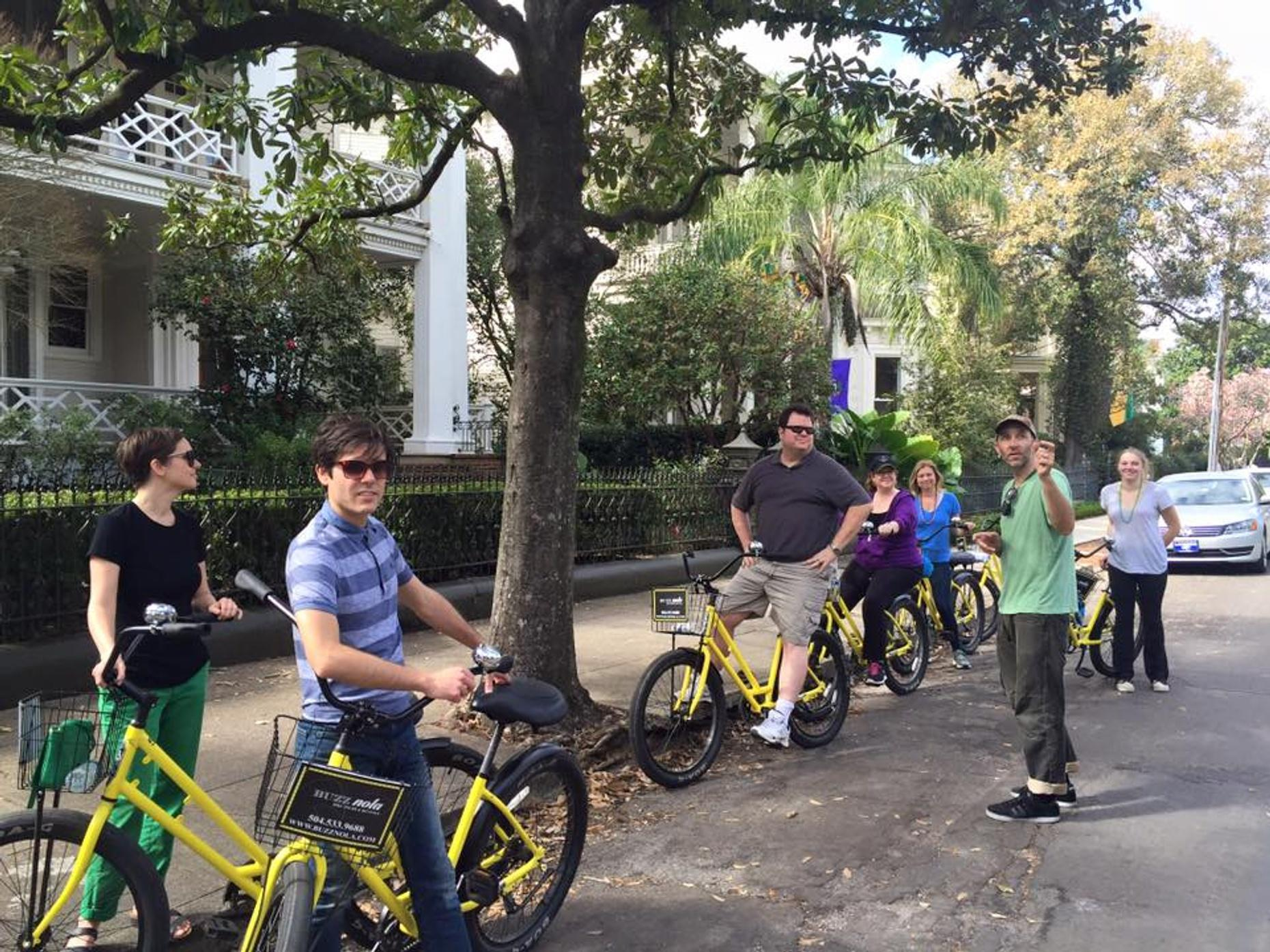 Three-Hour New Orleans Bike Tour