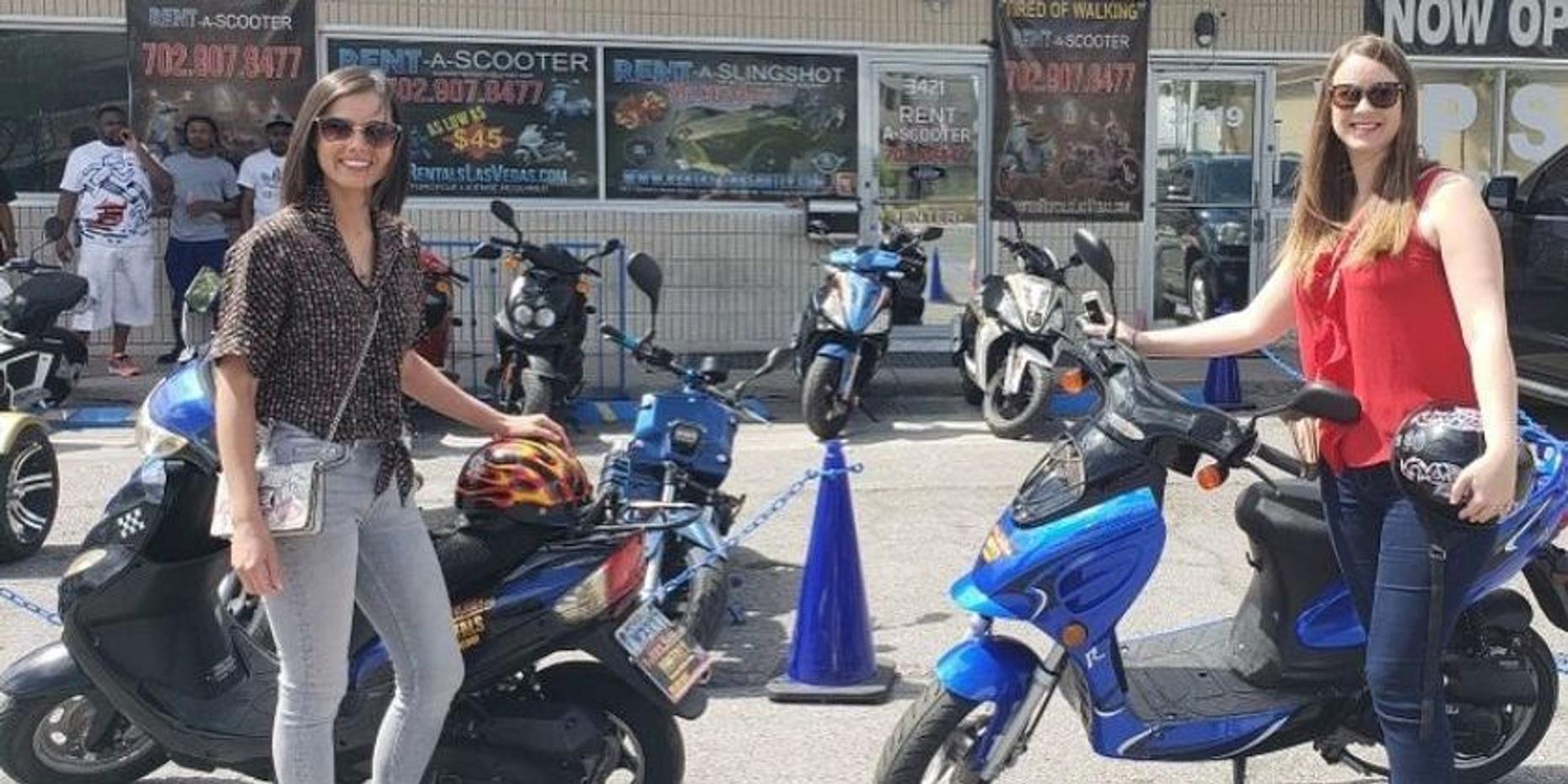 Premium Scooter Rental in Las Vegas