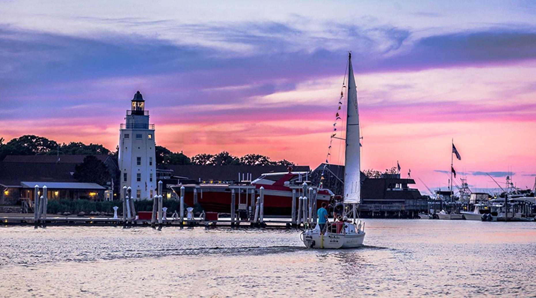 Montauk Harbor Taste of Sailing
