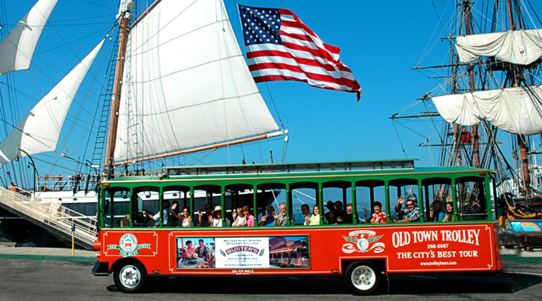 San Diego Trolley Day Tour