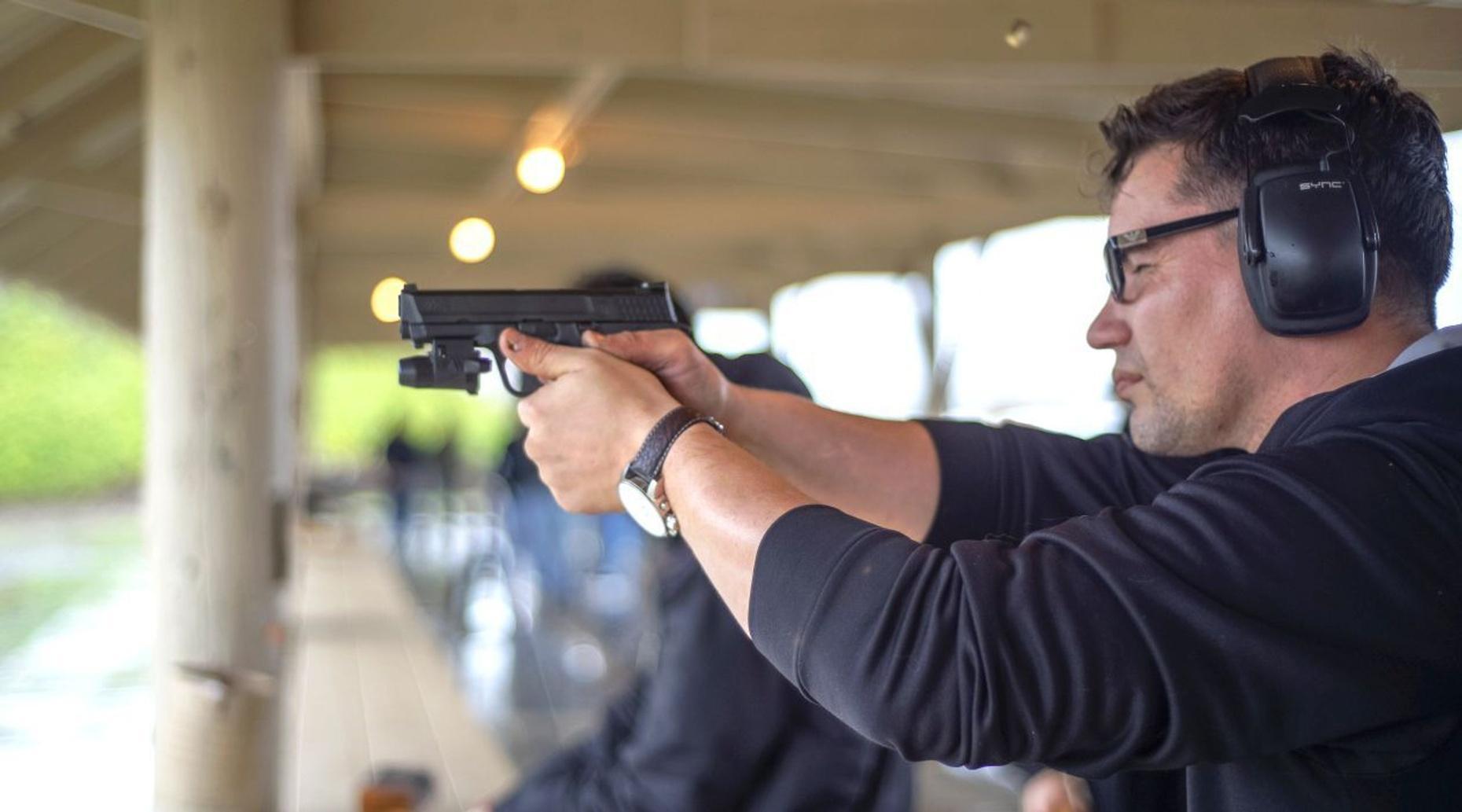 Vegas VIP Gun Range Package
