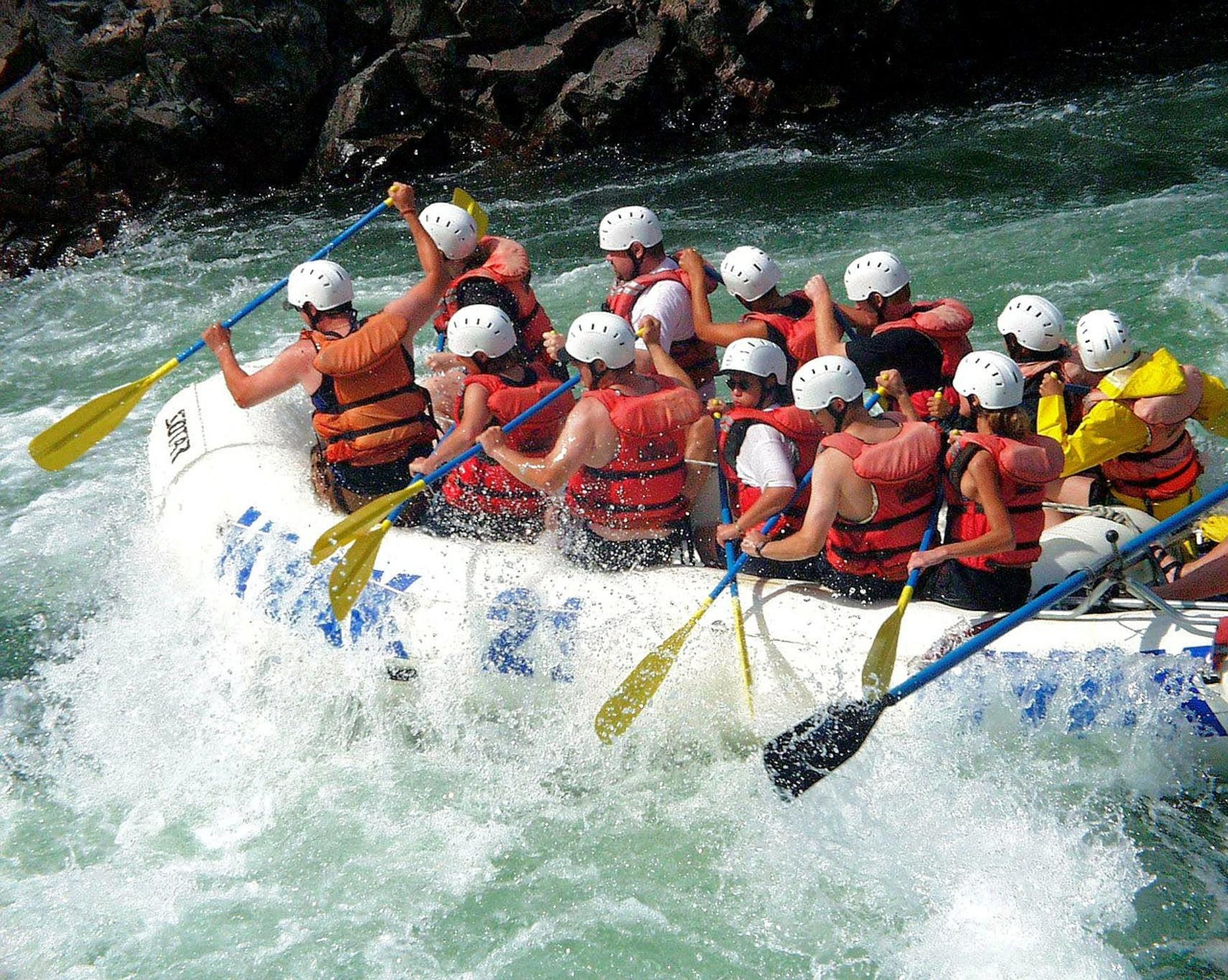 South Fork American River Full Day Rafting Adventure