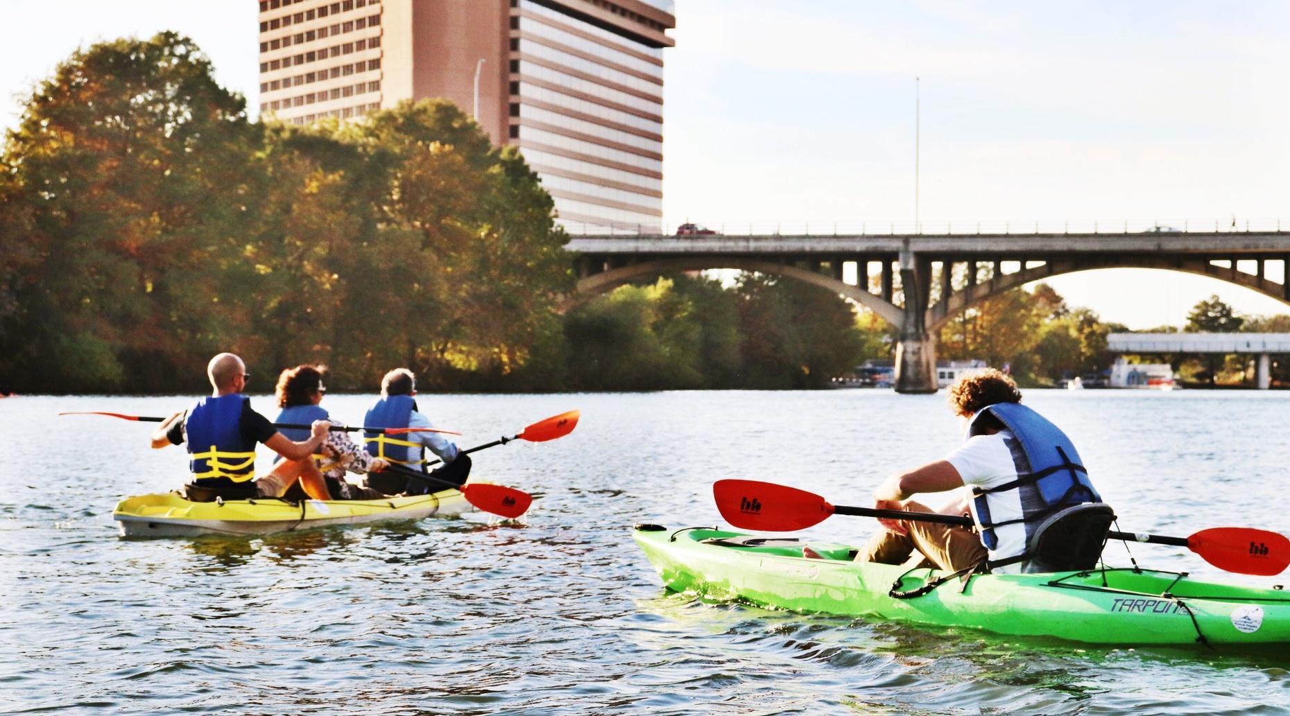 Downtown Austin Kayaking Tour