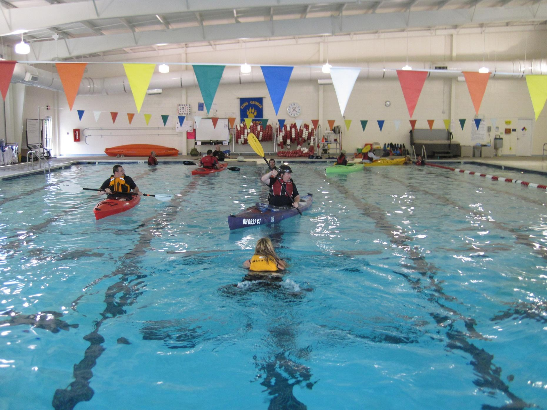 Four Week Kayaking Introduction Course in a Pool