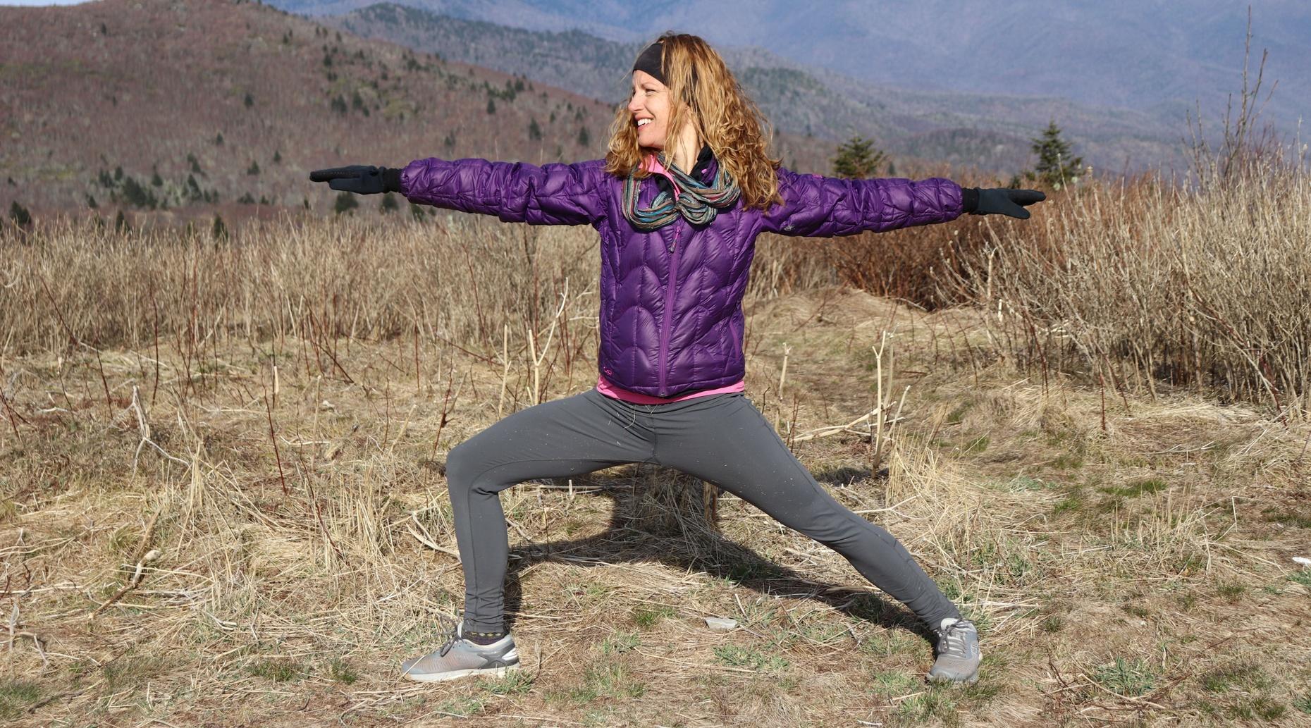 Breathtaking Blue Ridge Parkway Yoga Hiking Tour