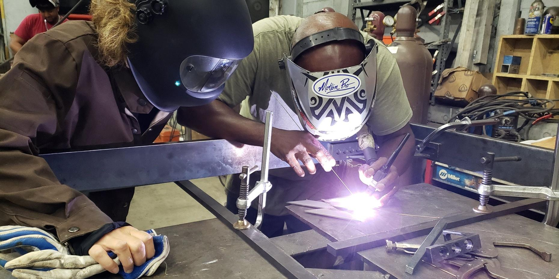 Private Metal Fabrication Class in Brooklyn