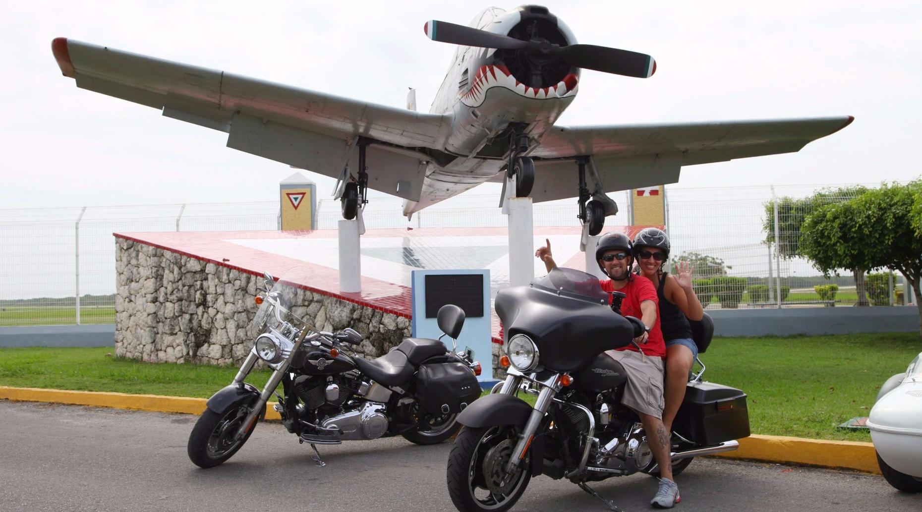 Harley Davidson Tour in Cozumel
