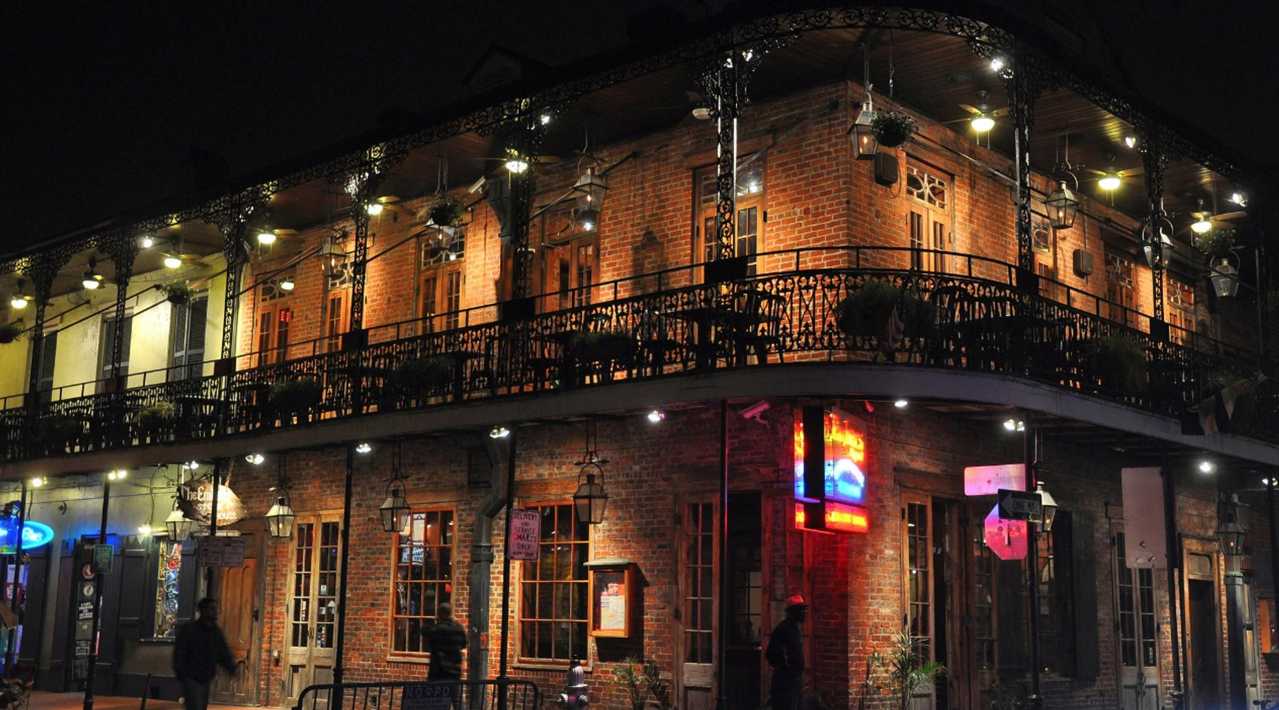 Guided French Quarter Ghost Tour in New Orleans