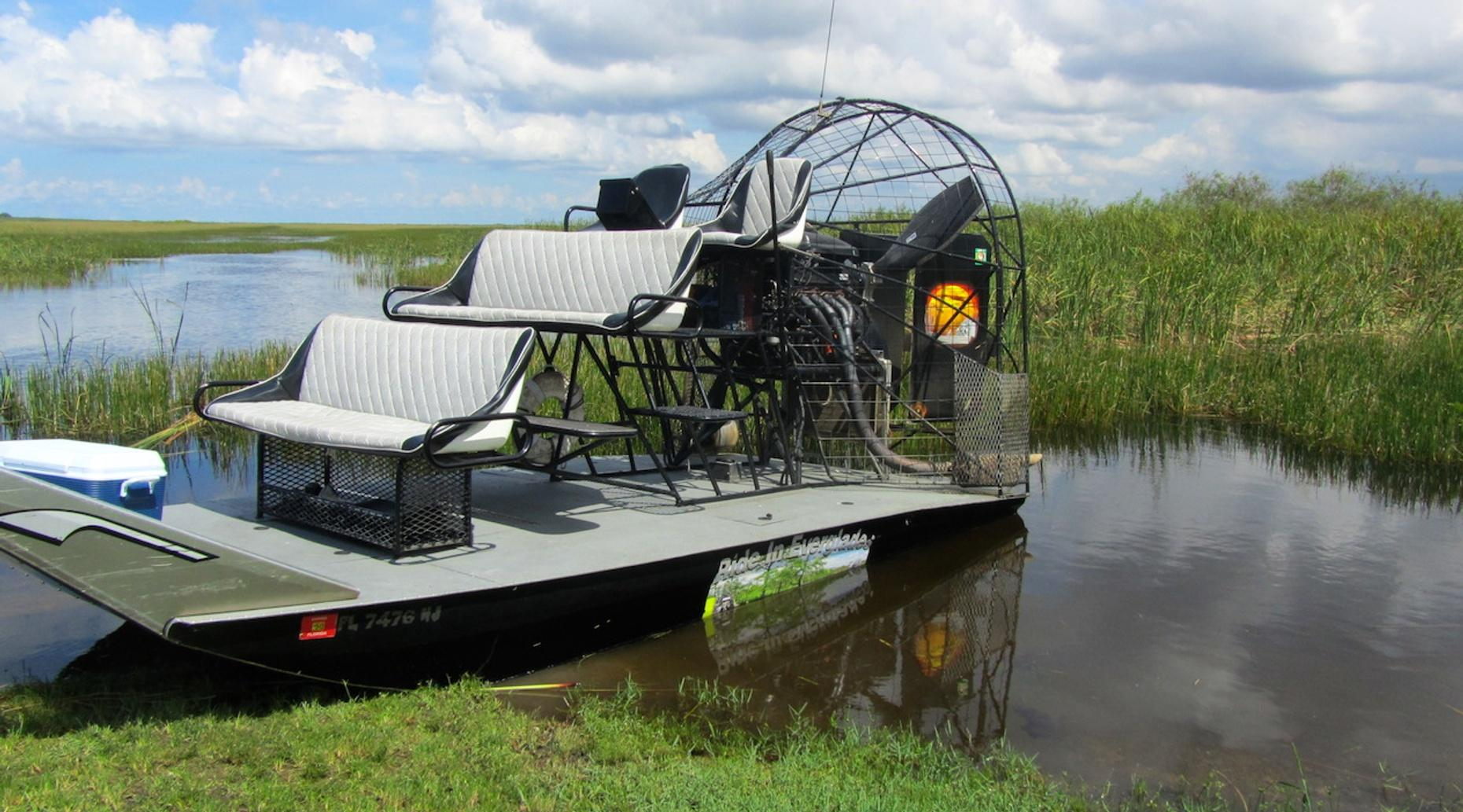 2.5-Hour Private Everglades Airboat Tour