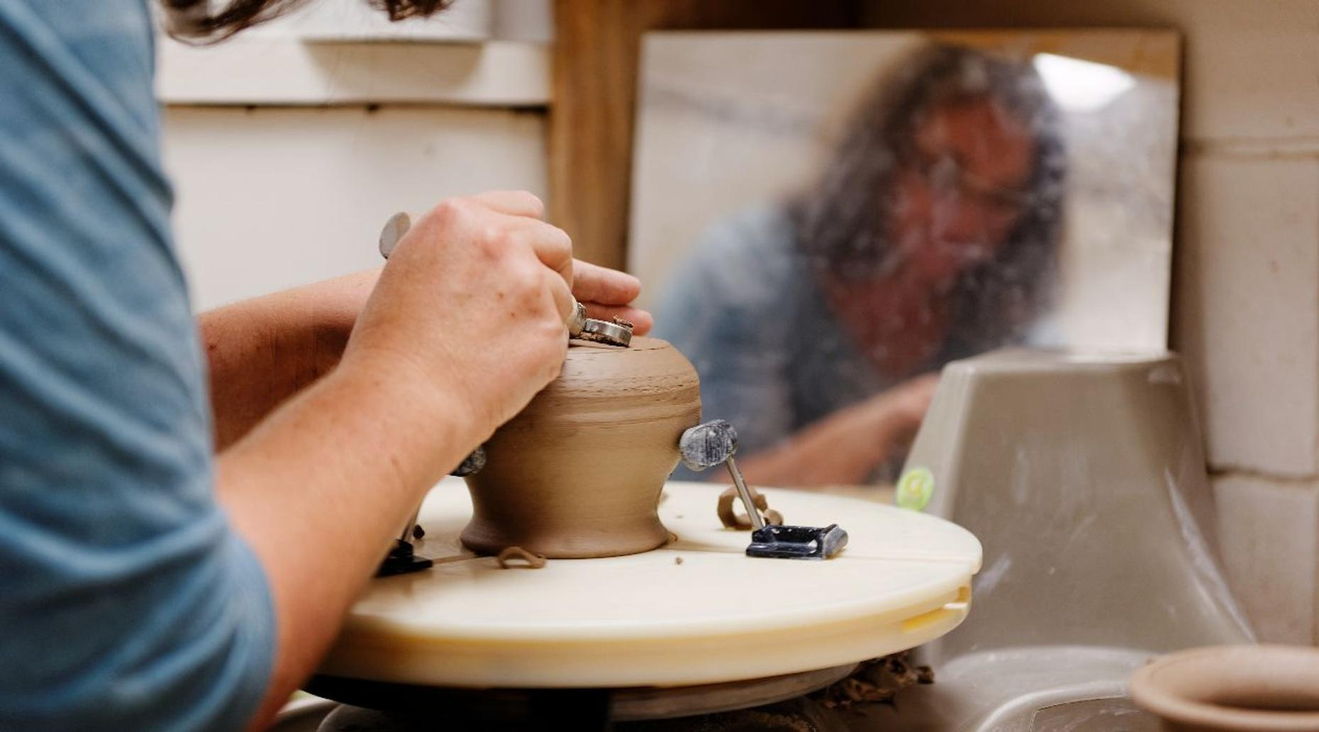 Taos Pottery and Glazing Class