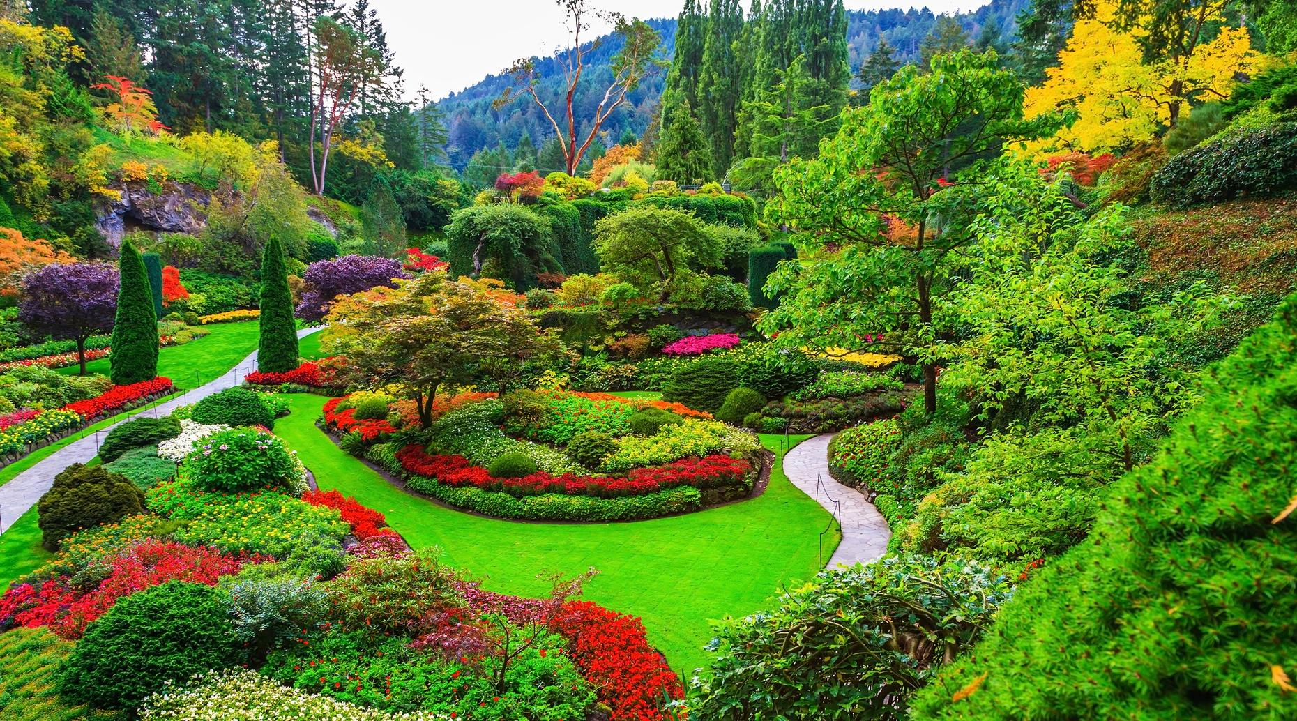 Butchart Gardens & Wine Tour in Vancouver