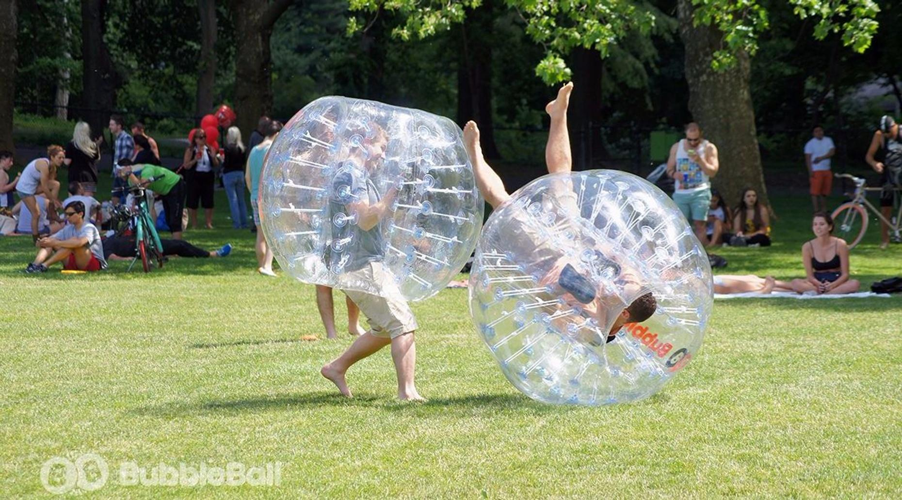 1-Hour BubbleBall Rental in Pasadena