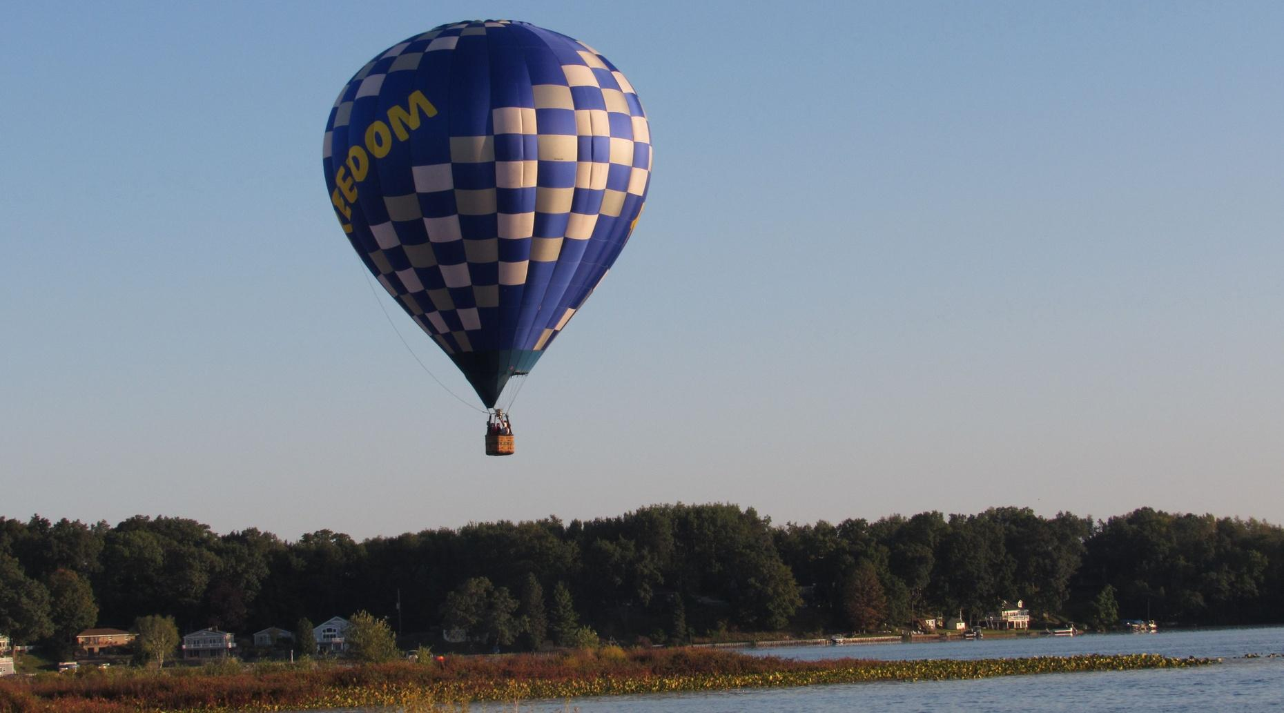 Four-Person Private Hot Air Balloon Flight in Battle Creek