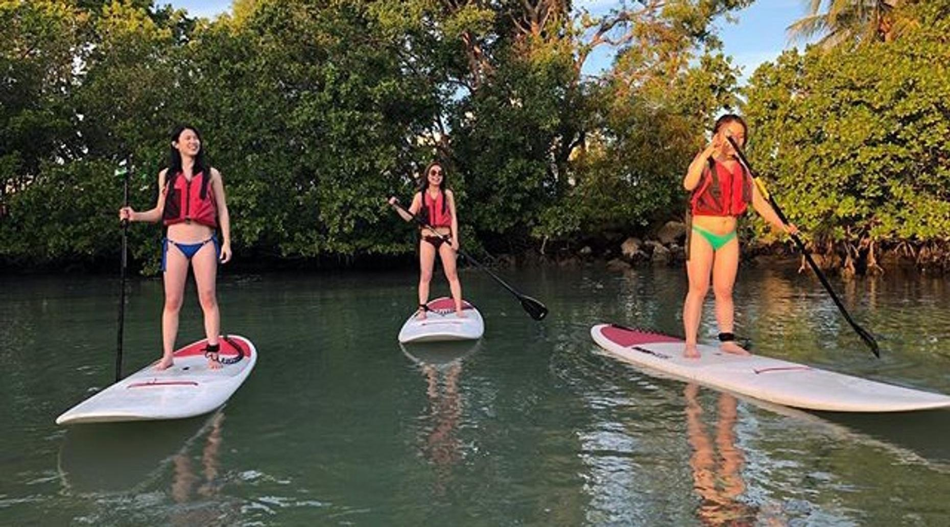 Stand-Up Paddle Board Lesson Special in Miami
