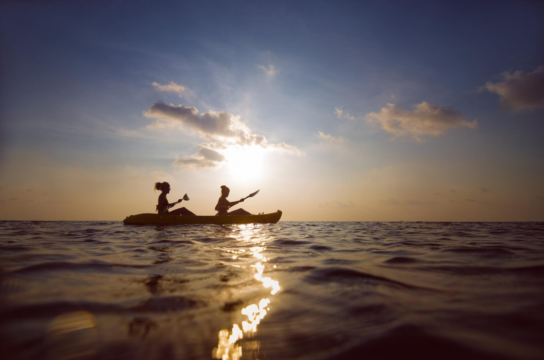 Private Sunset Paddle in Cleveland