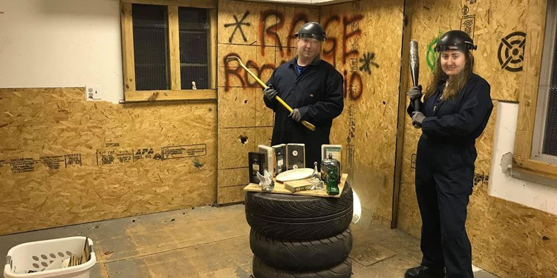 Rage Room Experience For Small Group in Akron