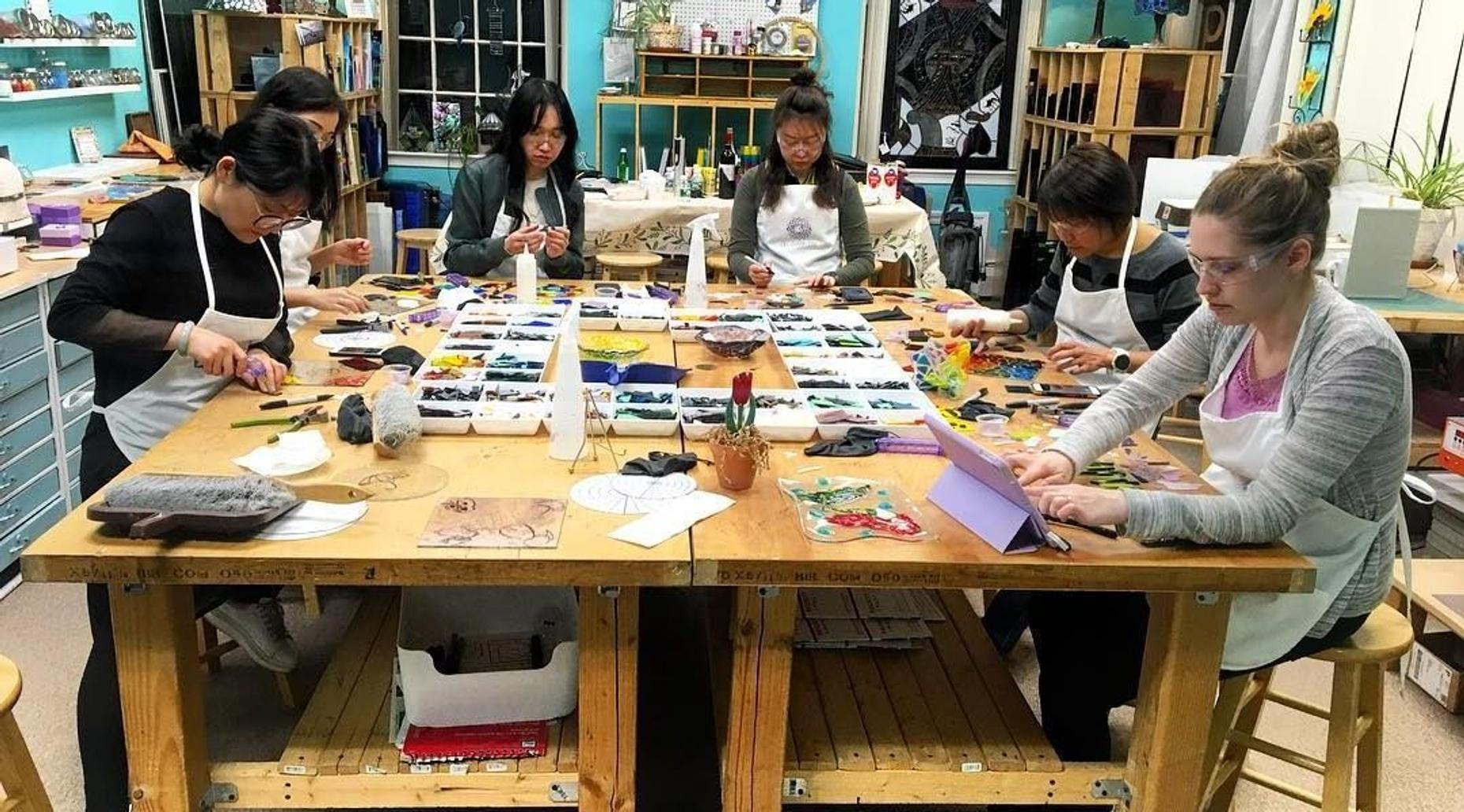 6-Week Stained Glass Class in Boston