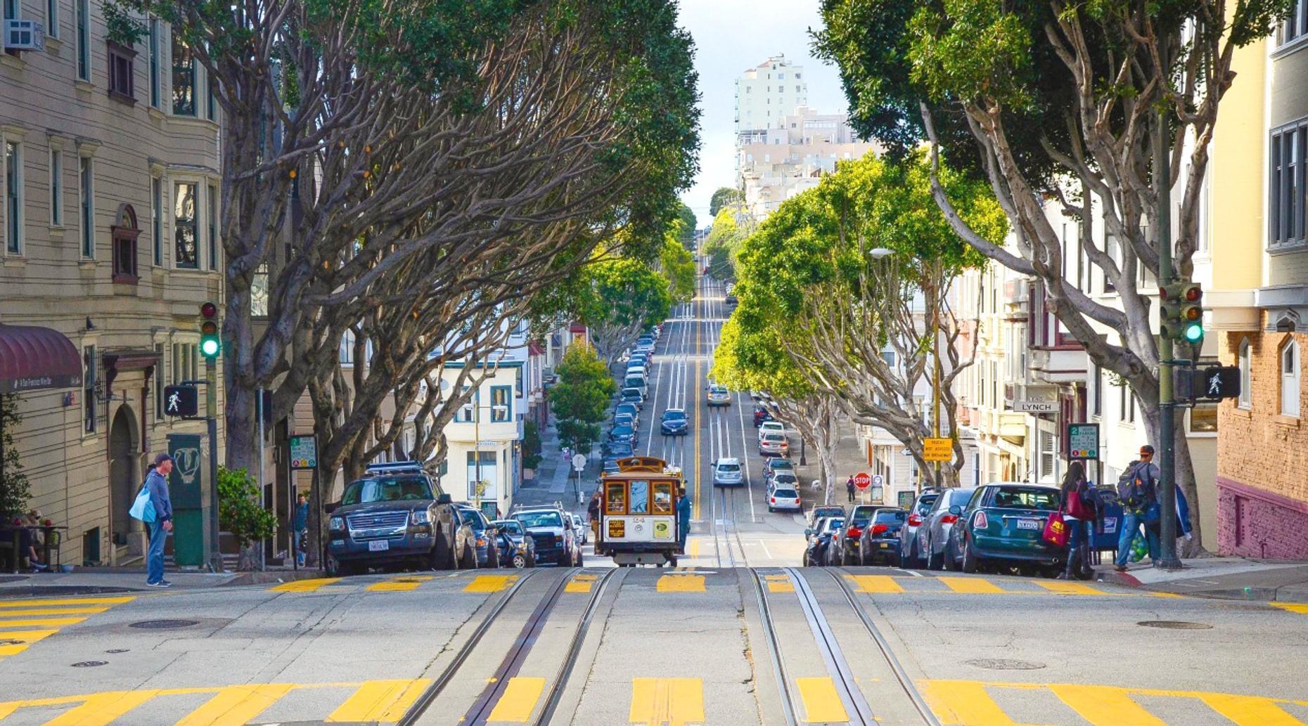 San Francisco Convertible Classic Car Tour